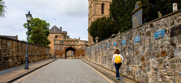 Linlithgow Palace features in Outlander, series 1episode 15
