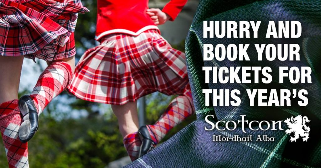 Scotcon Hurry Book Your Tickets
