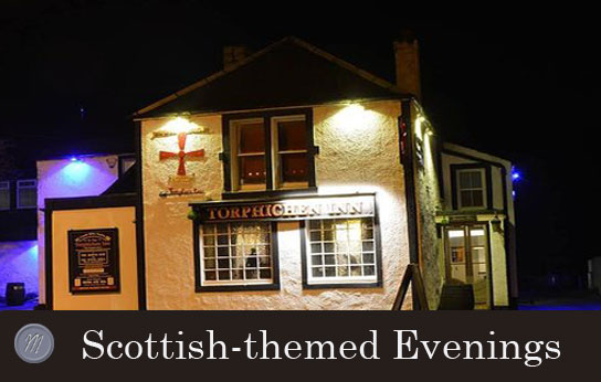 Scottish themed evenings