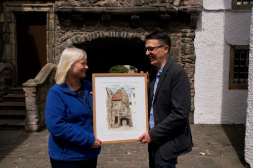 Anne Daly (Marys Meanders) and Mark Kirkham, The Edinburgh Sketcher