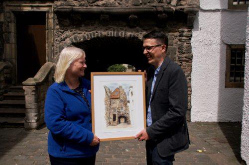 Anne Daly (Marys Meanders) and Mark Kirkham, The Edinburgh Sketcher
